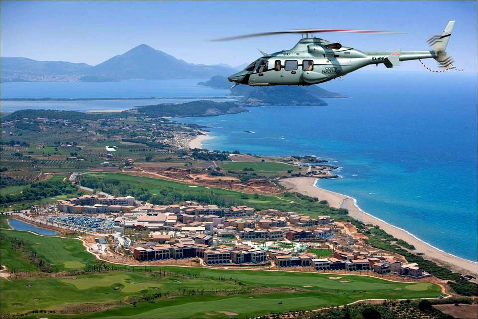 Greece Helicopter Sightseeing