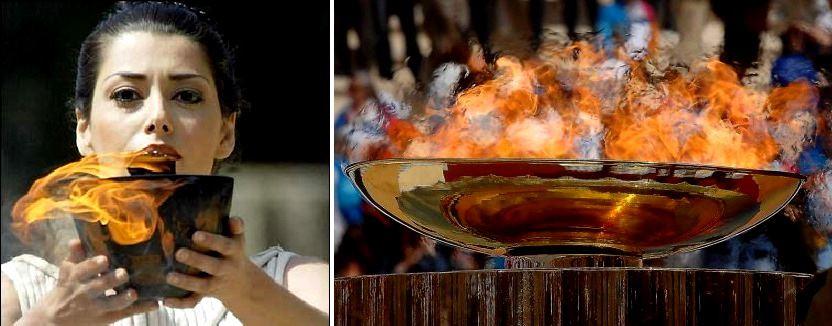 Greece Olympic Flame