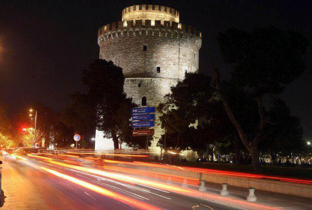 Thessaloniki's trademark The White Tower Greece