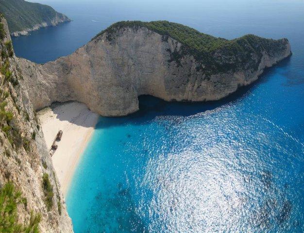 Zakynthos Coast Beach Greece