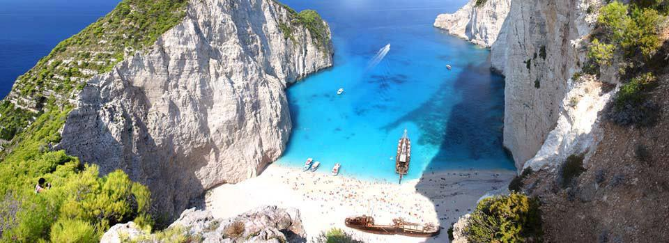 Zakynthos Island  Navagio Beach Greece